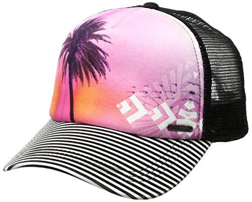 Roxy Juniors Golden Age Trucker Hat, True Black, One Size