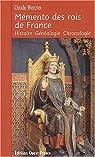 Mémento des rois de France par Wenzler