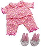 Manhattan Toy Baby Stella Goodnight Pajama Set Baby Doll Clothing