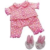 "Manhattan Toy Baby Stella Goodnight Pajama Baby Doll Clothes for 15"" Dolls"