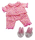 Manhattan Toy Baby Stella Goodnight Pajama Baby Doll Clothes for 15'' Dolls