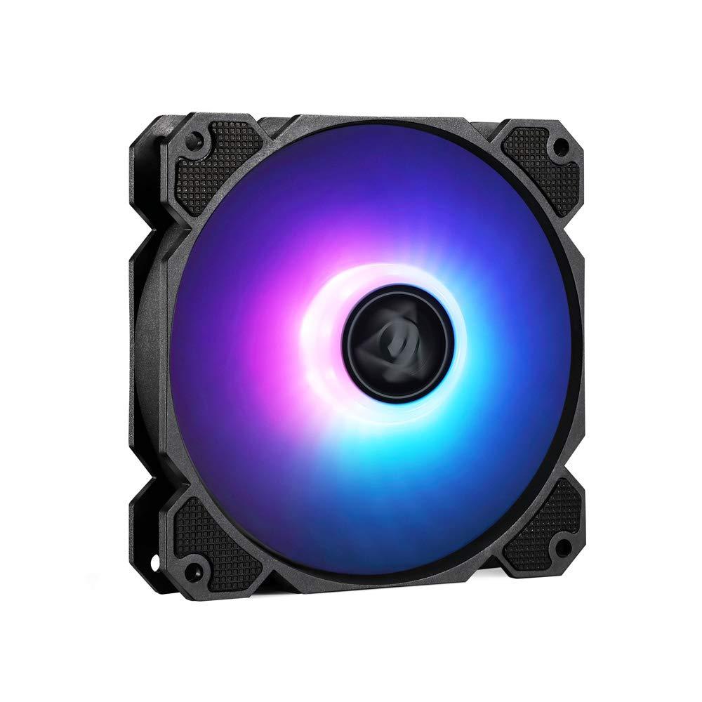FormulaMod 120mm ARGB High Performance with Low Noise Water Cooling Case Fan CPU Fan Radiator Fan FM-FANYH01