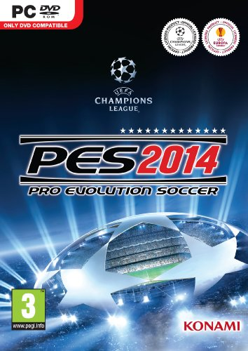 Pro Evolution Soccer PES 2014 Pro Evo PC DVD Game (Pc Football)