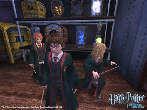 harry potter and the prisoner of azkaban pc game imp glitch