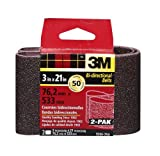 3M 9266NA Heavy Duty Power Sanding Belts - Coarse 50g, 3-Inch...