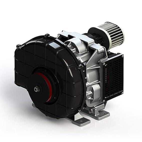 HPDAVV compresor de Aire de bajo Ruido, sin Aceite, 4,6 kW, Repuesto de compresor de Aire de pistón, 14,1 cfm, Hospital Dental, modificación automática, ...