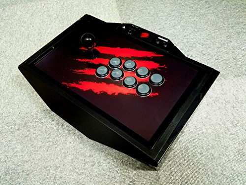 mad catz authorized special faceplate scratch logo fight stick art