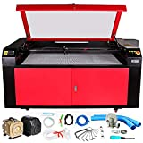Mophorn Laser Engraving Machine 100W Co2 Laser Engraving Cutting Machine 36x24inch Laser Engraver Machine Micro Stepping Motor Woodworking Crafts Engraver Machine(36x24inch 100W)