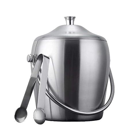 Compra Aiceb-Ice bucket Lijado Cubo de Hielo Grueso Acero ...