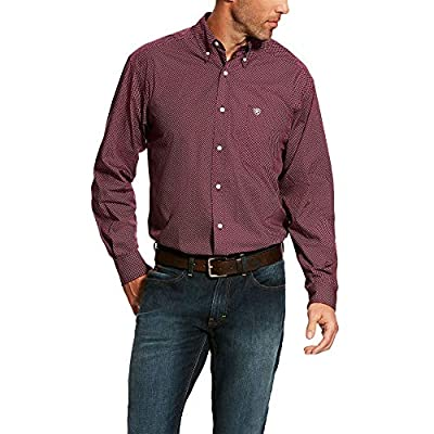 ARIAT Men's Fitted Long Sleeve Stretch Shirt