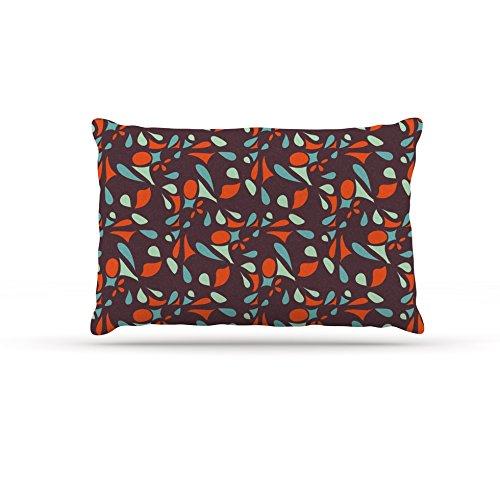 Kess InHouse Miranda Mol Retro Tile  Fleece Dog Bed, 50 by 60 , Multicolor