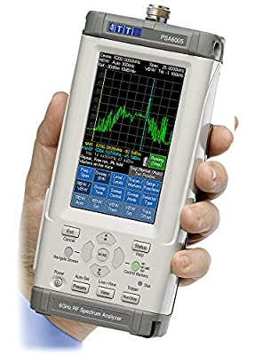TTi PSA6005 6GHz Handheld Spectrum Analyser