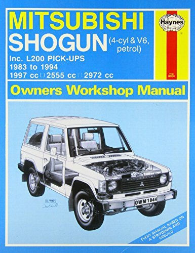 Mitsubishi Shogun & L200 Pick-Ups Service and Repair Manual (Haynes Service and Repair Manuals) by null (2013-05-13)