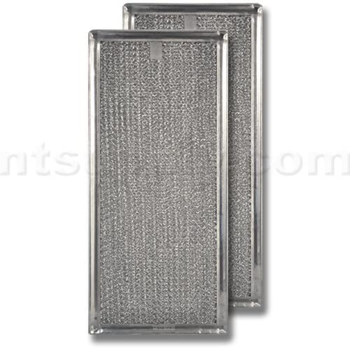 Aluminum Range Hood Filter - 5-15/16\