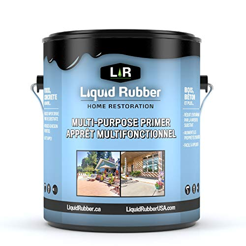 - Liquid Rubber Multi-Purpose Primer - Easy to Apply   Fast Drying   Non-Toxic   1 Gallon