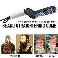 Saking TameFinish Beard Straightening Comb -MediFit Show Cap Men 2019