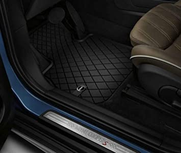 Weather Car Mats >> Mini Genuine Floor Mats All Weather Front Set Essential Black F60