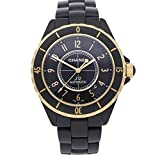 Chanel J12 Mechanical (Automatic) Black Dial Mens Watch H2918 (Certified Pre-Owned)