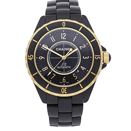 Chanel J12 Mechanical (Automatic) Black Dial Mens Watch H2918 (Certified ()