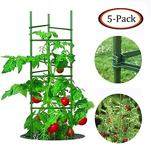 Growsun 5 Ft Tomato Cage Plant Support Garden...
