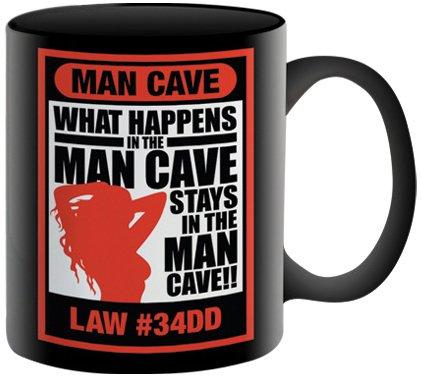 Aquarius Coffee Mug, Man Cave Laws