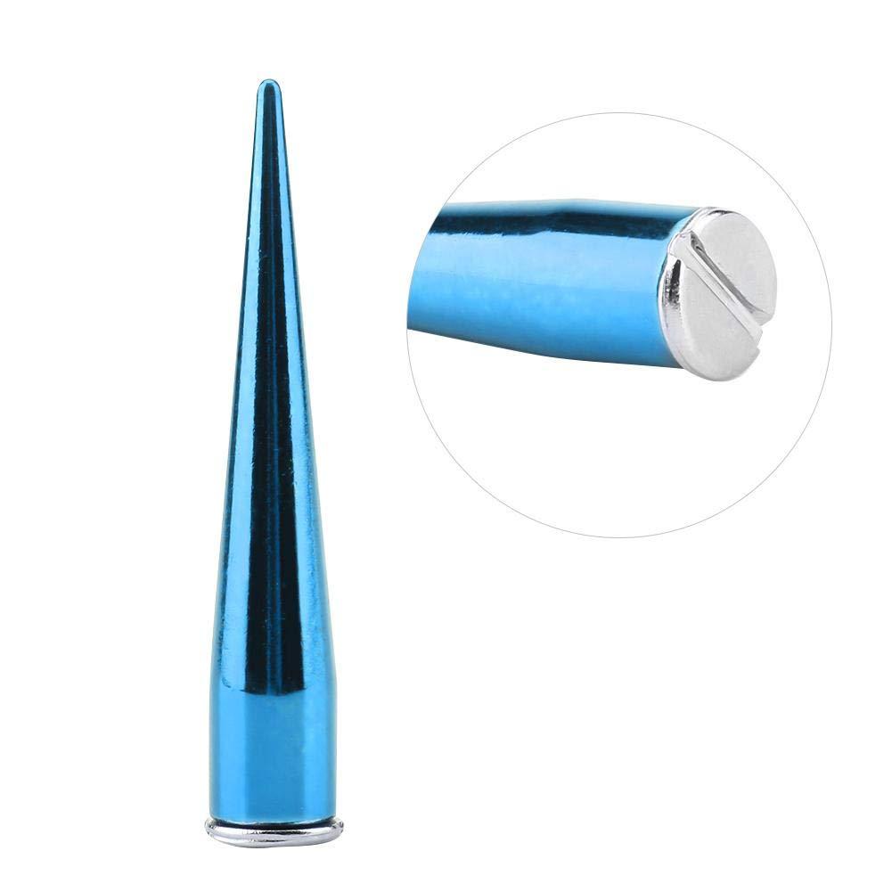 Azul artesan/ías de Cuero DIY decoraci/ón para Zapatos de cintur/ón espigas de Cono Bolso esp/árragos met/álicos Sheens 10 Piezas de Remaches de Metal de 7 mm Tornillo