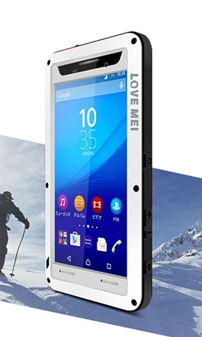2 opinioni per LOVE MEI Heave Duty-Cover per Sony Xperia, M5, Cover impermeabile antiurto e