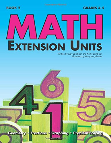 Math Extension Units (Book 2)
