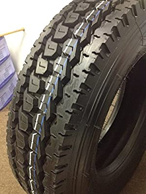 (8-TIRES) 295/75R22.5 DRIVE TIRE 8 NEW ROAD WARRIOR HEAVY DUTY 16 Ply