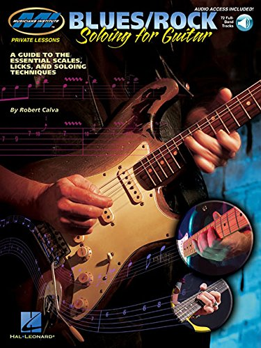 - Blues/Rock Soloing for Guitar: Private Lessons Series (Musicians Institute: Private Lessons)