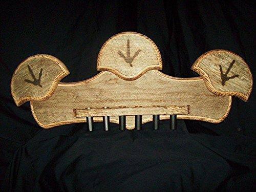 Custom Barnwood Plaques Triple Turkey Fan