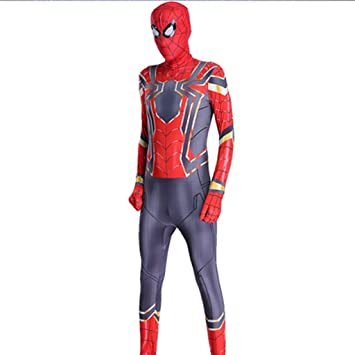 Amazon.com: MOXUAN Printed Spiderman Drama Costume Spiderman ...