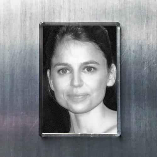 Seasons Elena Anaya - Original Art Fridge Magnet #js005