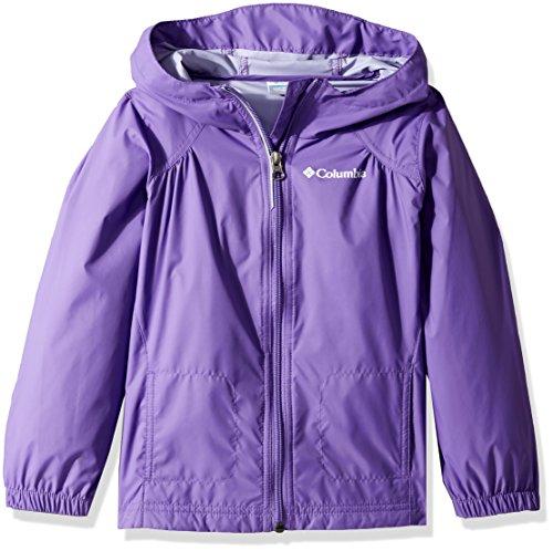 Little Girls Spring Jackets - Columbia Girls' Little Switchback Rain Jacket, Grape Gum, 3T