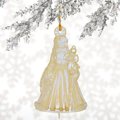 2009 Annual Bell Ornament (Waterford Crystal Annual 2009 Bell Ornament St. Nicholas)