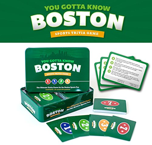 AppSetGoGames You Gotta Know Boston - Sports Trivia Game (Boston Red Sox Trivia Games)