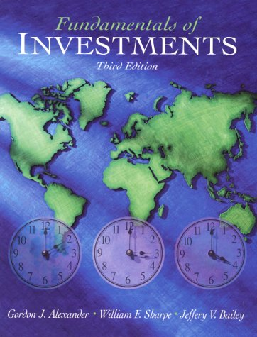 Fundamentals of Investments (3rd Edition)