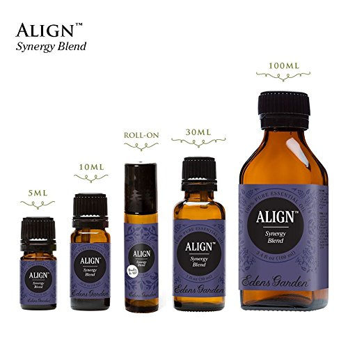 Align Synergy Blend Essential Oil by Edens Garden 100 ml (Comparable to DoTerra's Balance) by Edens Garden (Image #1)
