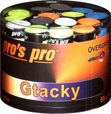 60 Griffbänder Overgrip Gtacky bunt Pro G071a