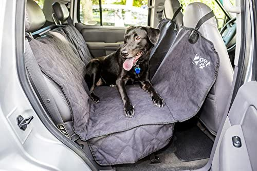 2PET Dog Seat Cover for Backseat or Door Truck Seat Cover for Dogs Secure Fit and Opening for Seatbelts for Truck SUV Cars Waterproof Protects Upholstery from Dust, Hair Dirt – Choose Yours