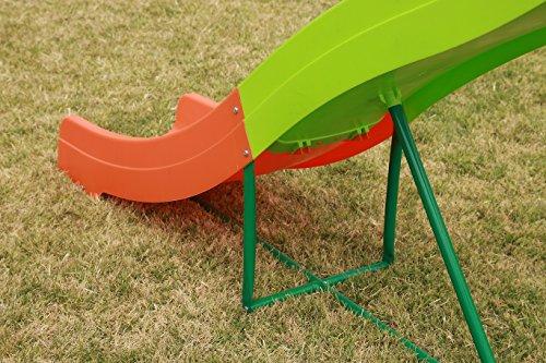 Ihram Kids For Sale Dubai: PLATPORTS 8 FT Freestanding Backyard Wavy Water Slide For