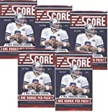 5 (Five) Packs of 2011 Score NFL Football Trading