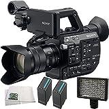 Sony PXW-FS5 XDCAM Super 35 Camera System with Sony E PZ 18-105mm f/4 G OSS Lens + 4PC Accessory Kit