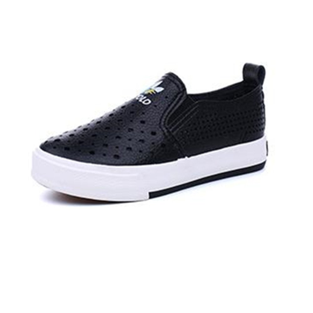 Kids Boys Girls Leather Loafers Slip-On Oxford Flats Boat Dress Schooling Daily Walking Shoes