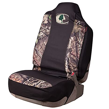 Mossy Oak Seat Covers >> Mossy Oak Camo Seat Cover Universal Fit Country Single