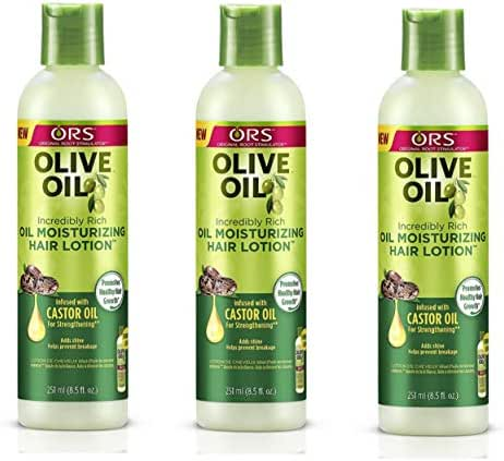 ORS Olive Oil Moisturizing Hair Lotion, 8.5 Oz (Pack of 3)