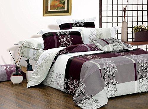Swanson Beddings May 3-Piece 100% Cotton Bedding Set: Duvet