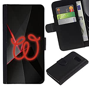 Paccase / Billetera de Cuero Caso del tirón Titular de la tarjeta Carcasa Funda para - W - Samsung Galaxy S6 SM-G920