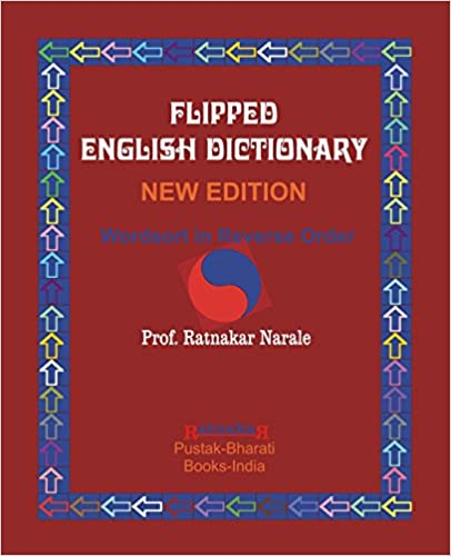 Book Flipped English Dictionary,