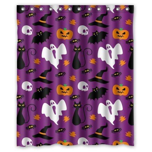 Hot Sale Shop Custom Waterproof Polyester Bathroom Fabric Shower Curtain decor 60